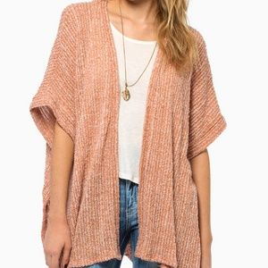 Tobi orange cardigan